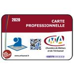 Carte professionnelle - Chambre des métiers / Artisanat